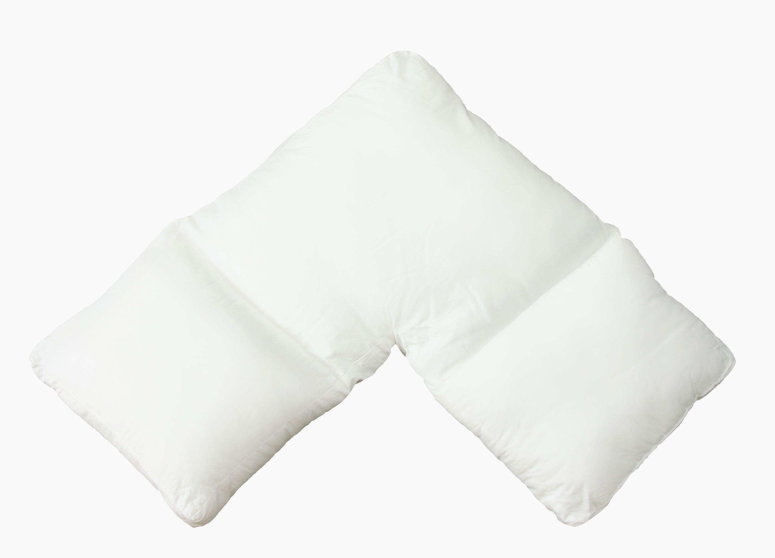 White apron argos - The Good Sleep Expert V Shape Pillow