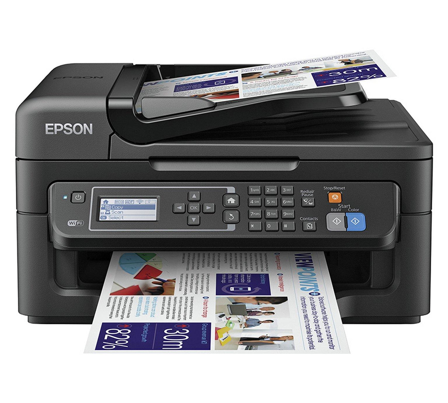 Epson WorkForce WF-2630WF All-in-One Wireless Printer