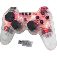 PS3 - Wireless Controller - Glowing Red