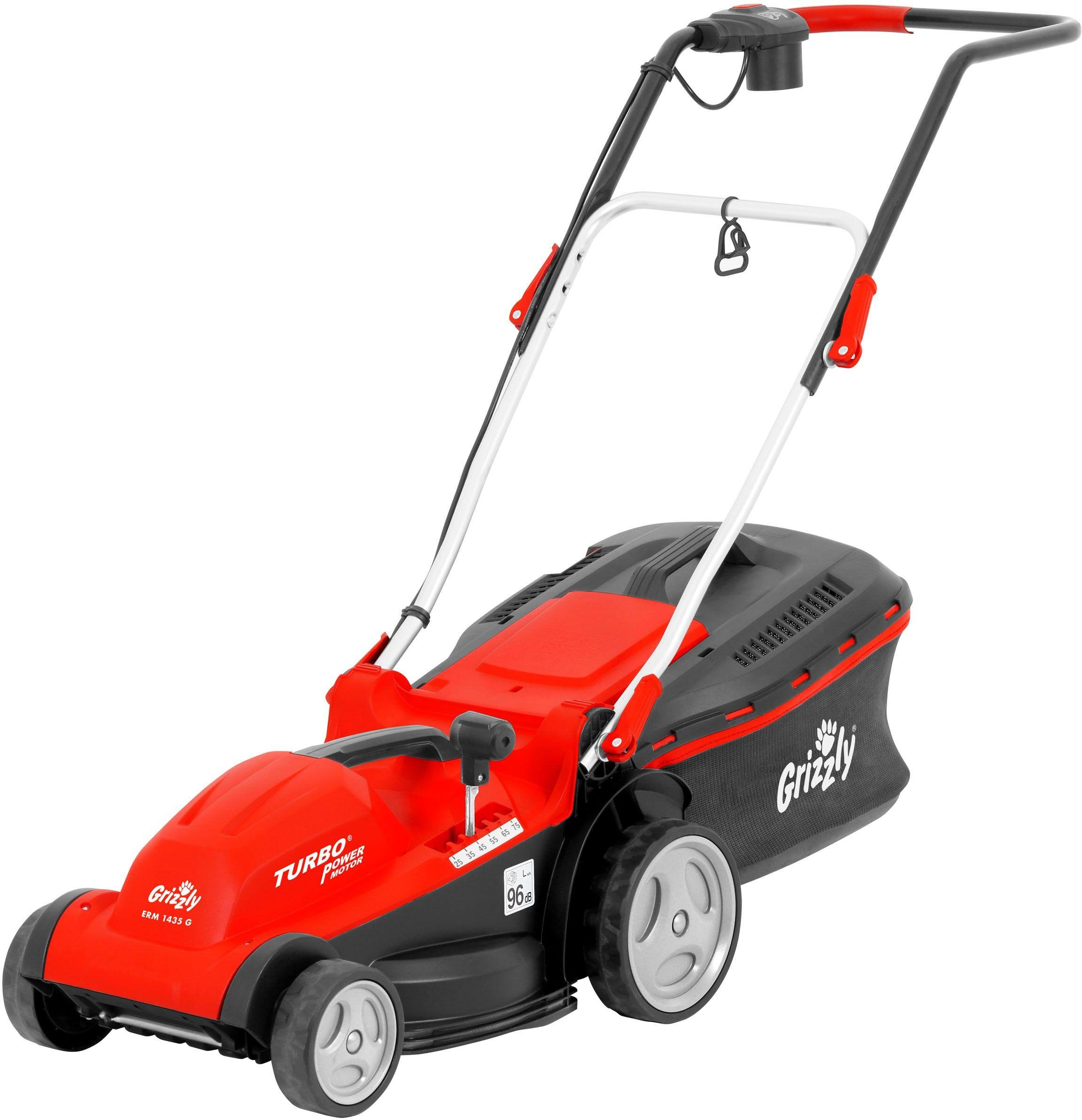 Image of Grizzly Tools 35cm Corded Rotary Lawnmower - 1400W