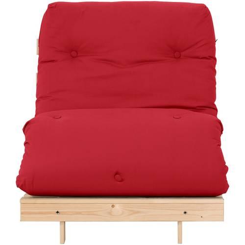 Buy Argos Home Single Futon Sofa Bed with Mattress - Red   Sofa ...