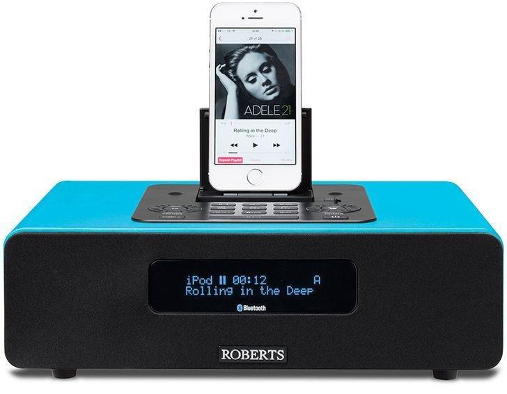 Roberts - Radio Blutune65 Bluetooth Sound System - Blue