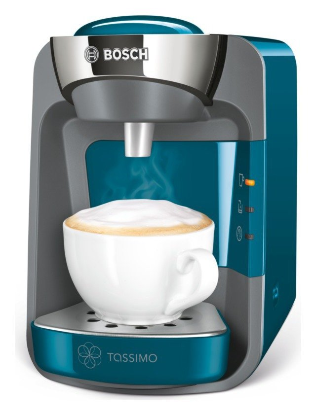 tassimo by bosch suny pod coffee machine blue. Black Bedroom Furniture Sets. Home Design Ideas