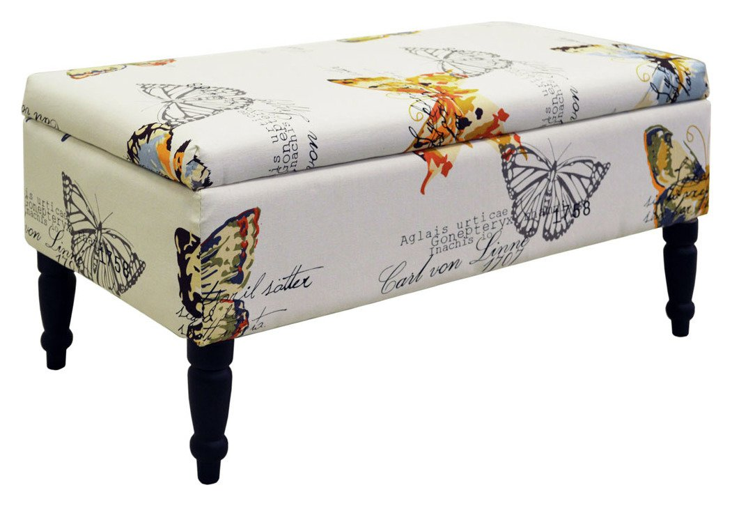 Buy Storage Ottoman Butterfly at Argoscouk Your Online Shop