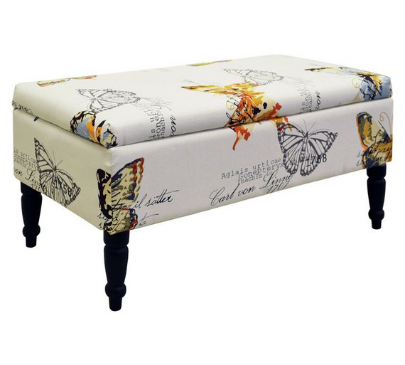 Butterfly Storage Ottoman358/8701 - Buy Butterfly Storage Ottoman At Argos.co.uk - Your Online Shop