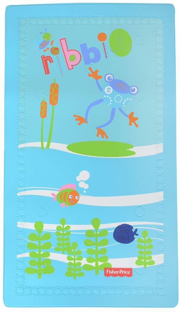 Image of Fisher-Price - Froggy Friends Temperature Change Bath Mat
