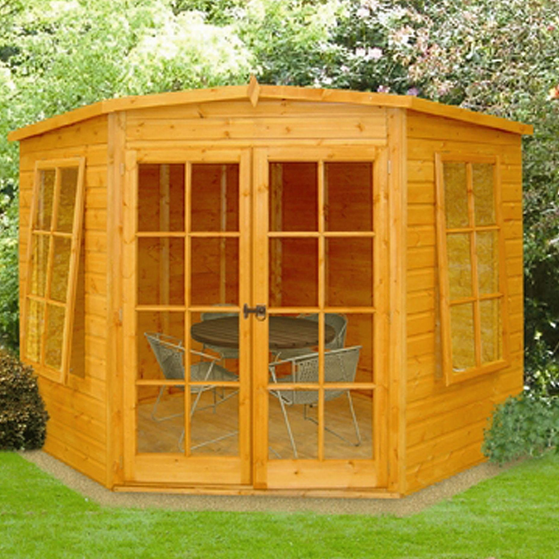 Homewood Homewood Hampton Wooden Summerhouse - 8 x 8ft.