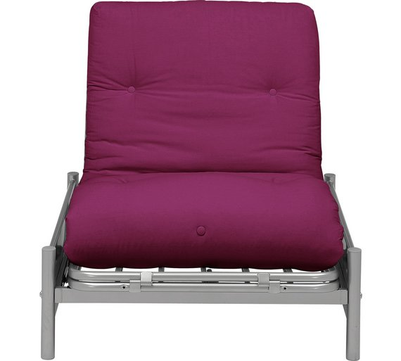 Single sofa bed chair argos for Chaise longue sofa bed argos