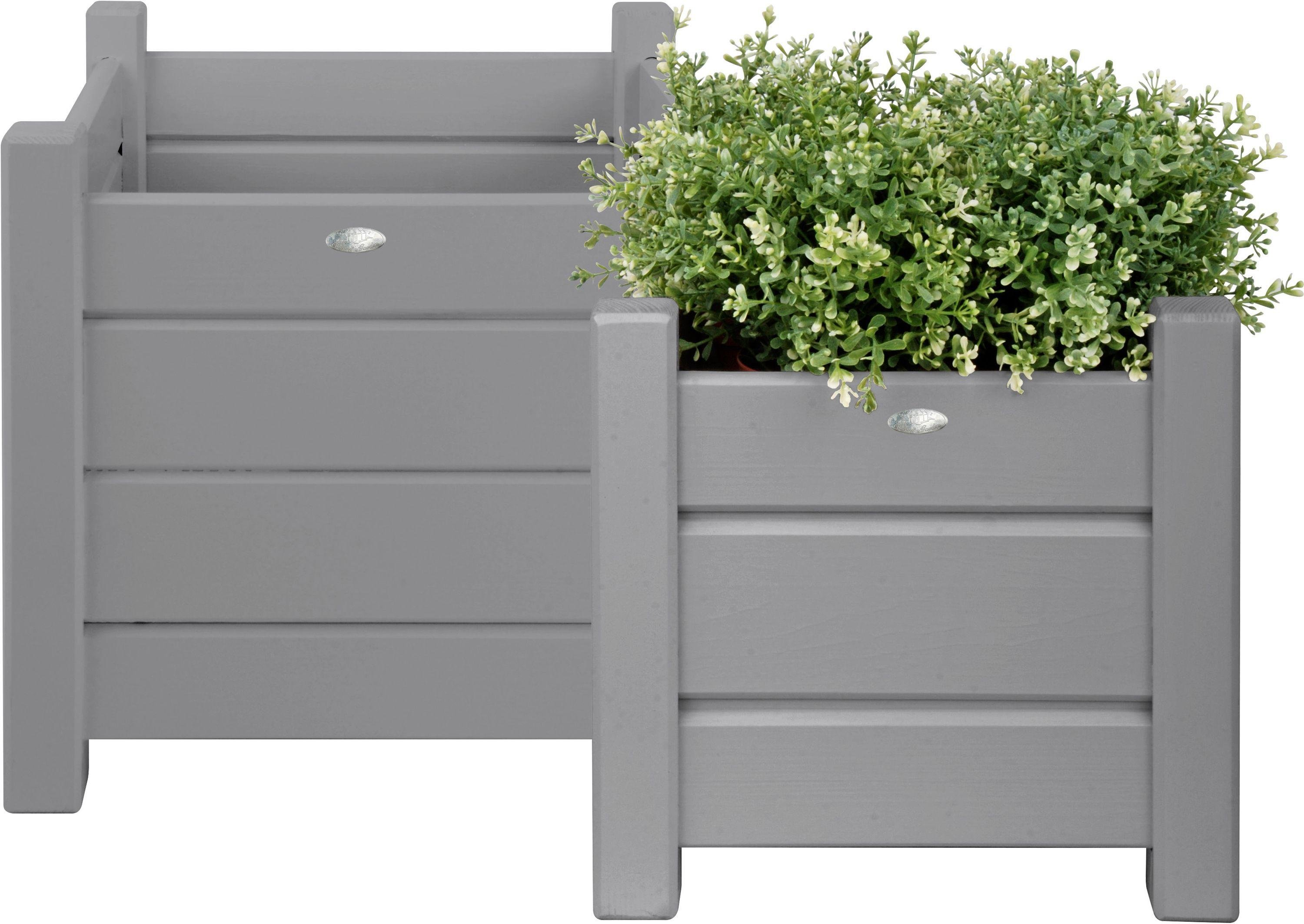 Fallen Fruits - Grey Square Planters - Set of 2