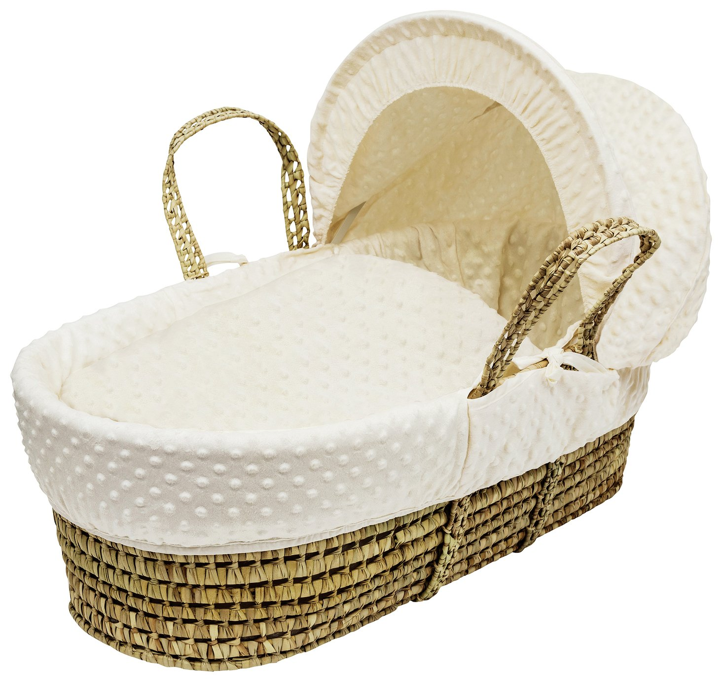 Kinder Valley Cream Dimple Moses Basket