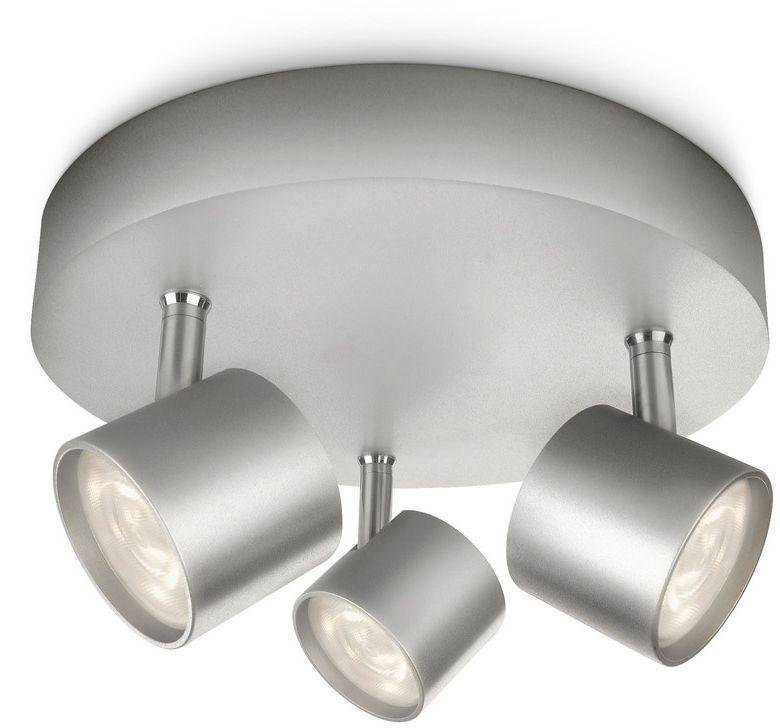 Philips myliving adjustable 3 ceiling spot light aluminium