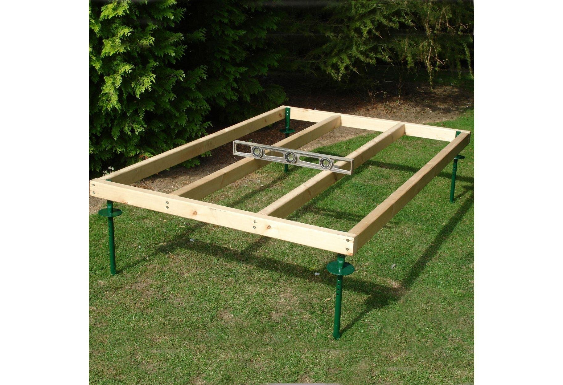 Homewood Adjustable Wooden Shed Base - 6 x 4ft