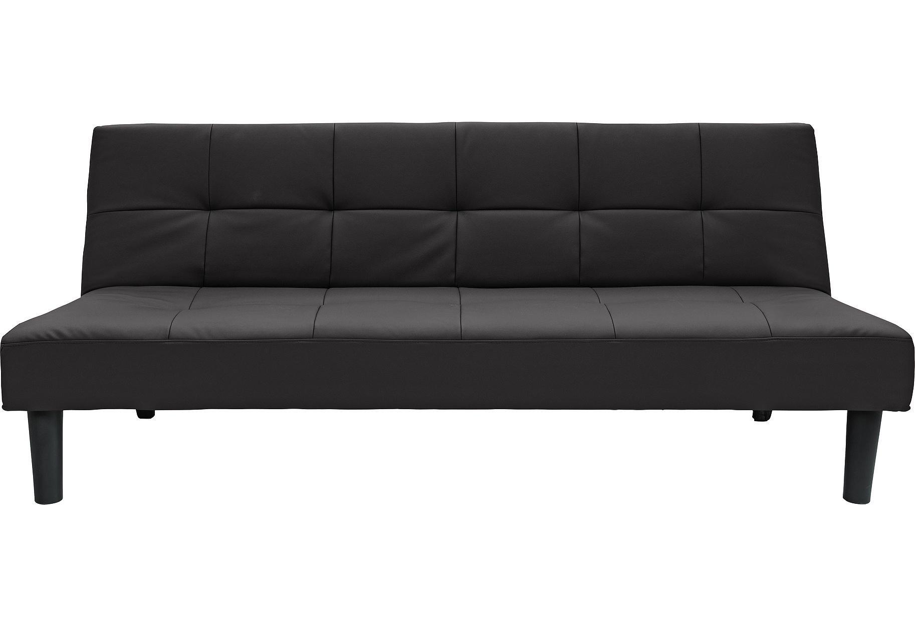 Habitat Patsy 3 Seater Clic Clac Sofa Bed - Black