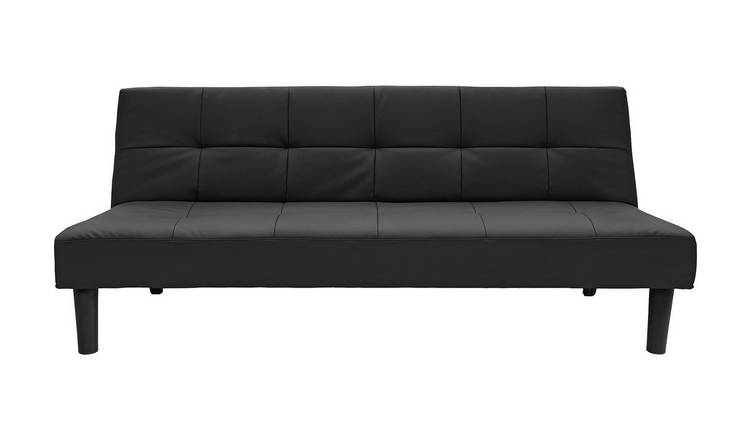 Habitat Patsy 2 Seater Clic Clac Sofa Bed - Black