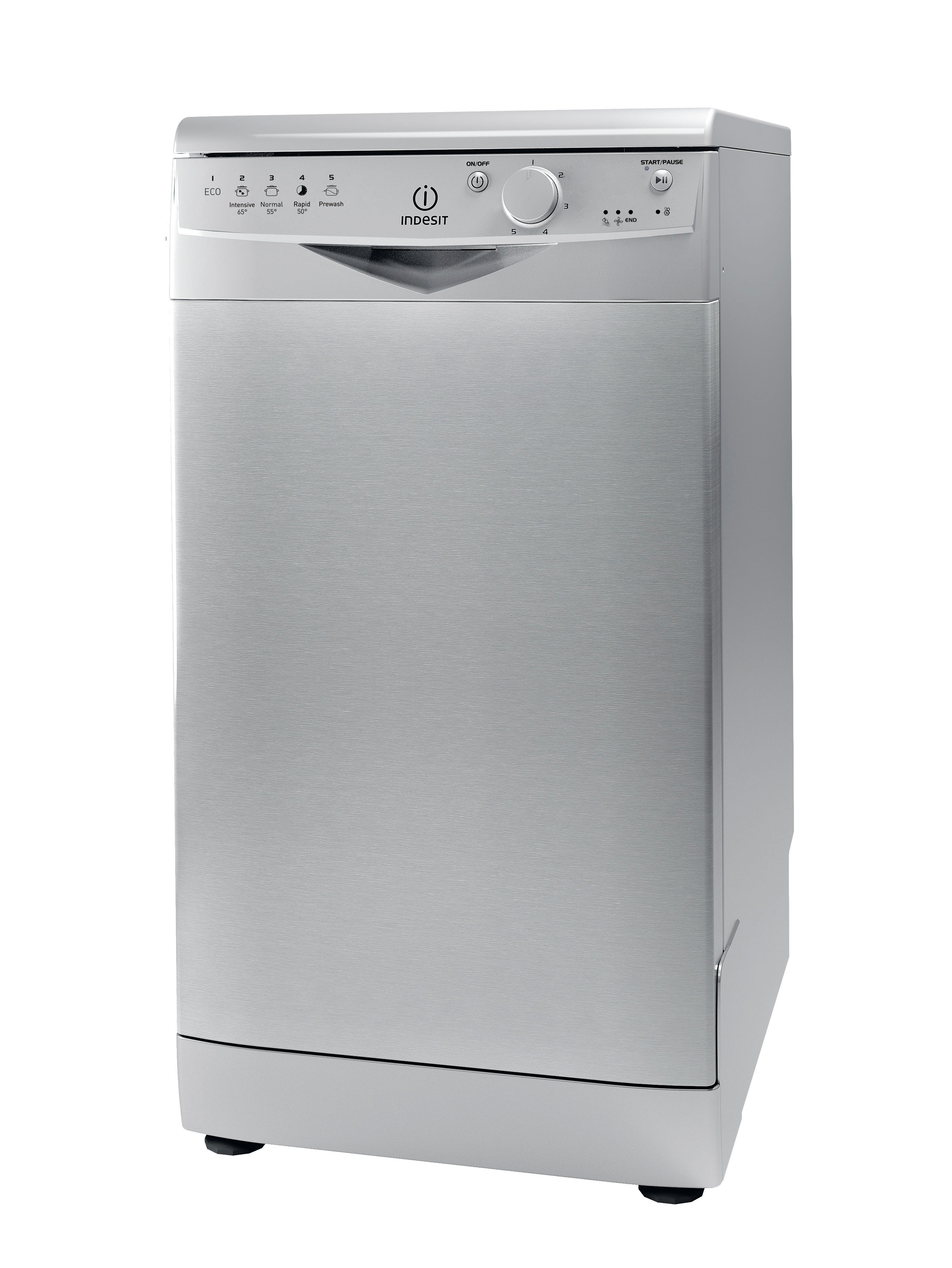 Image of Indesit Ecotime DSR 15B S Dishwasher - Silver