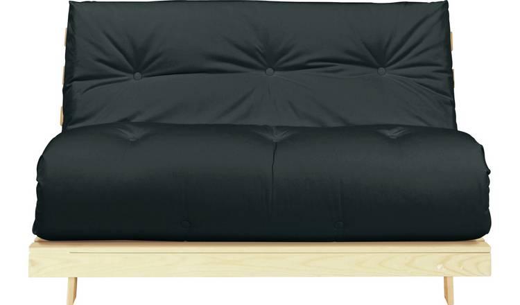 Buy Argos Home Tosa 2 Seater Futon Sofa Bed - Black | Sofa beds | Argos