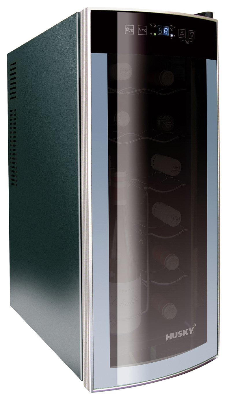 Husky HN6 Reflections Tabletop Wine Cooler.