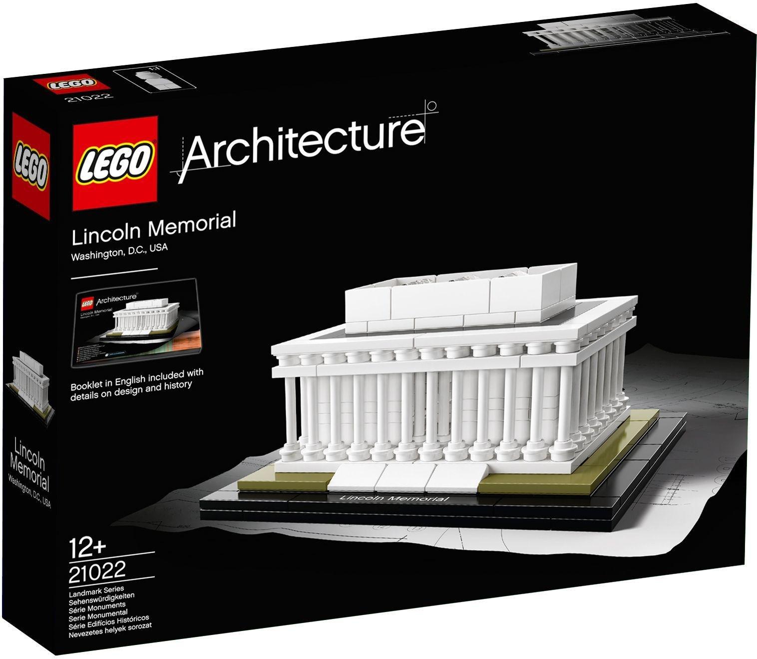 LEGO - Architecture Lincoln Memorial - 21022