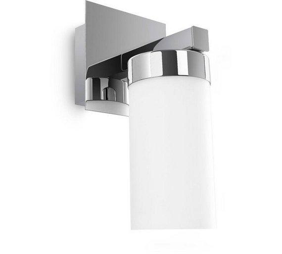 Buy philips mybathroom aloe energy saving wall light chrome at click to zoom mozeypictures Gallery