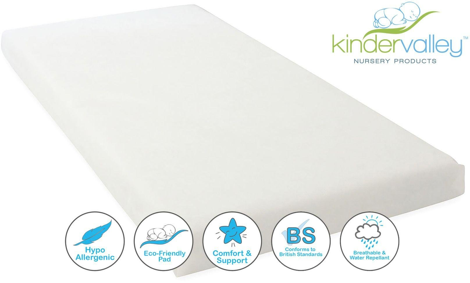Kinder Valley Flow Cot Bed Mattress- 140cmx70cm.
