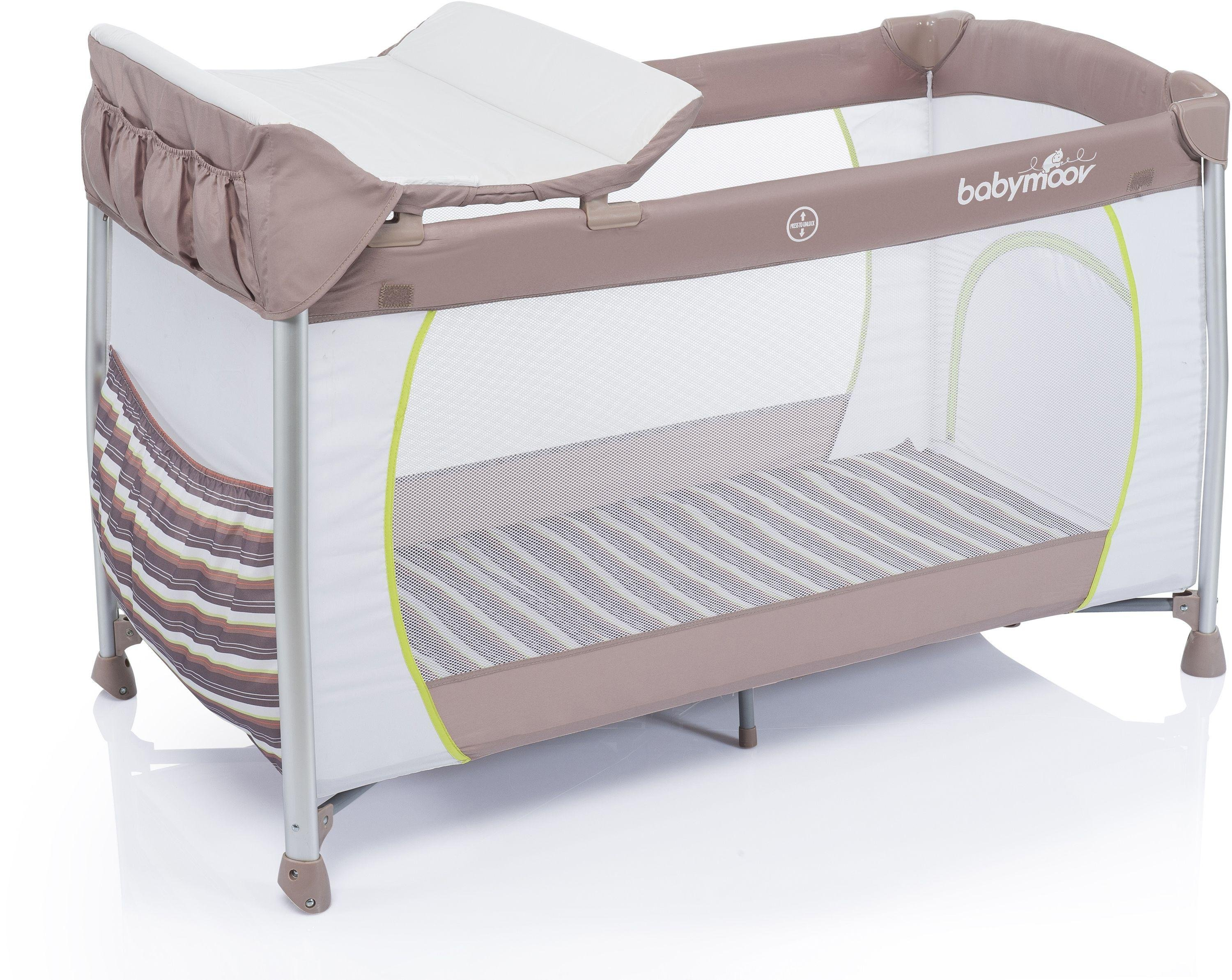 Image of Babymoov - Curve Dream - Travel - Cot - Taupe and Almond