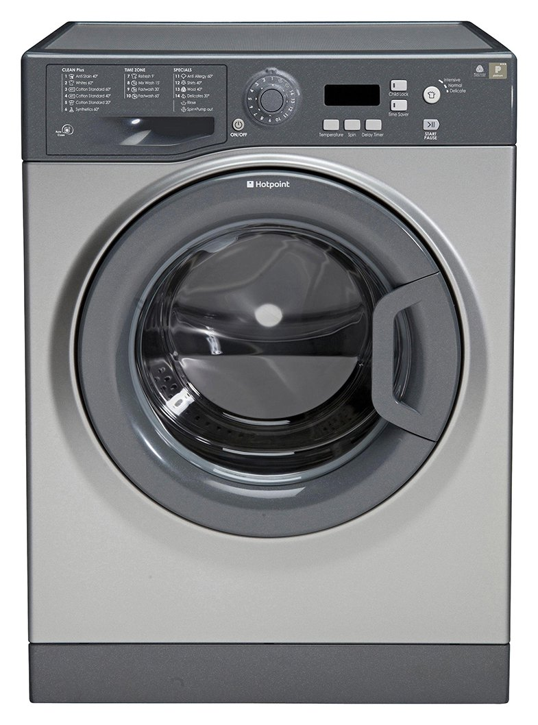 Hotpoint WMXTF742G 7KG 1400 Spin Washing Machine - Graphite