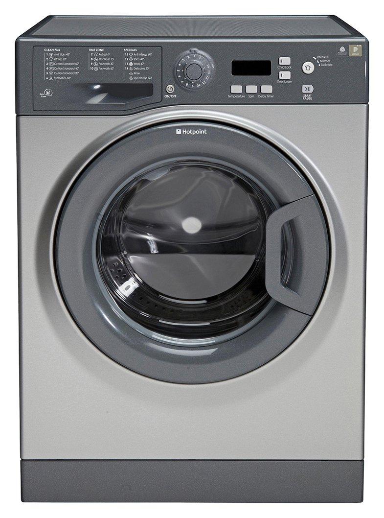 Image of Hotpoint - Extra WMXTF 742G - Washing Machine - Graphite