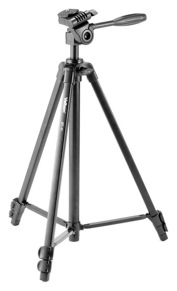 Velbon EF-41 Camera Tripod - Black