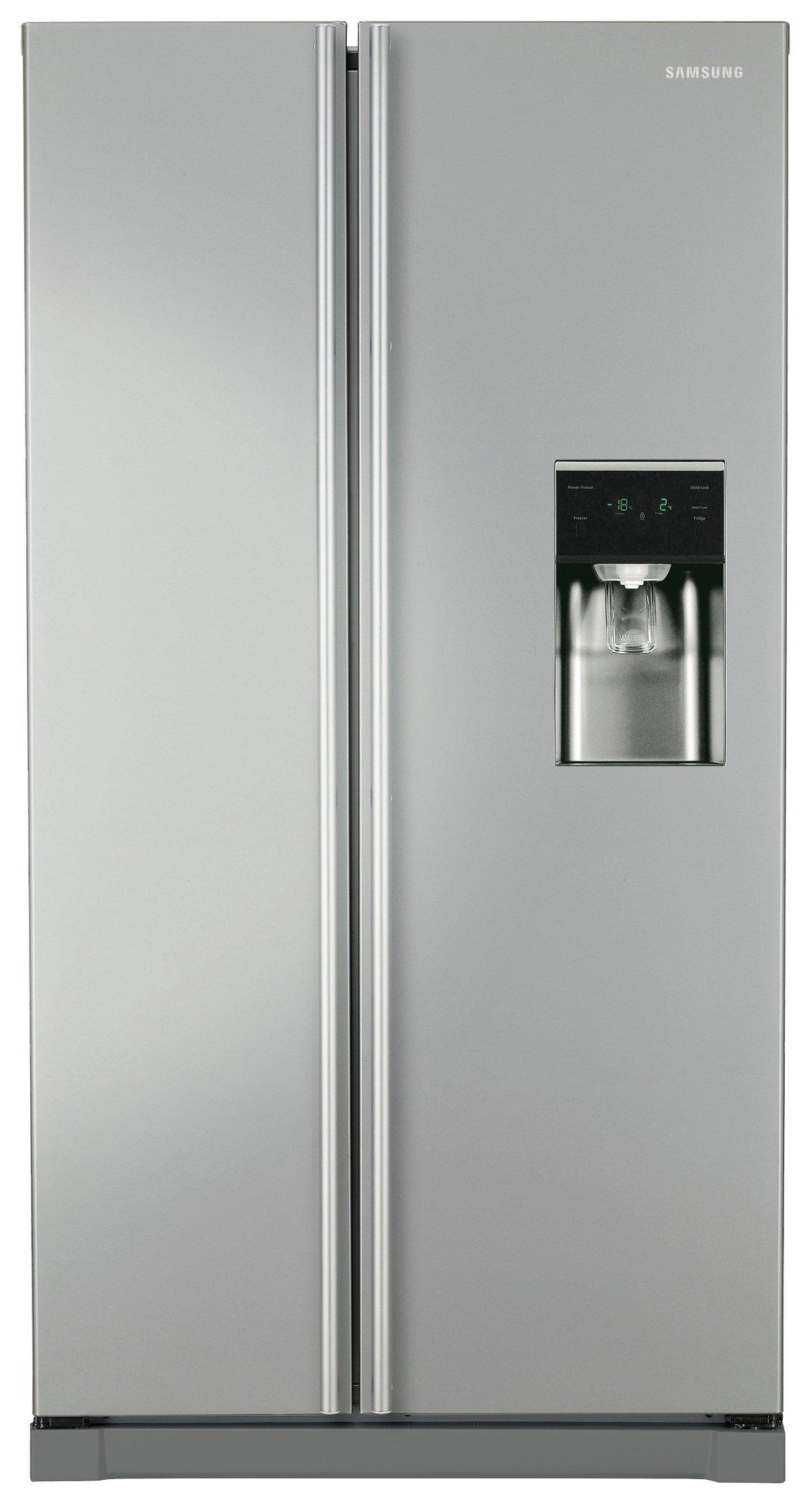 samsung fridge freezer. samsung rsa1rtmg1/xeu american fridge freezer - graphite l