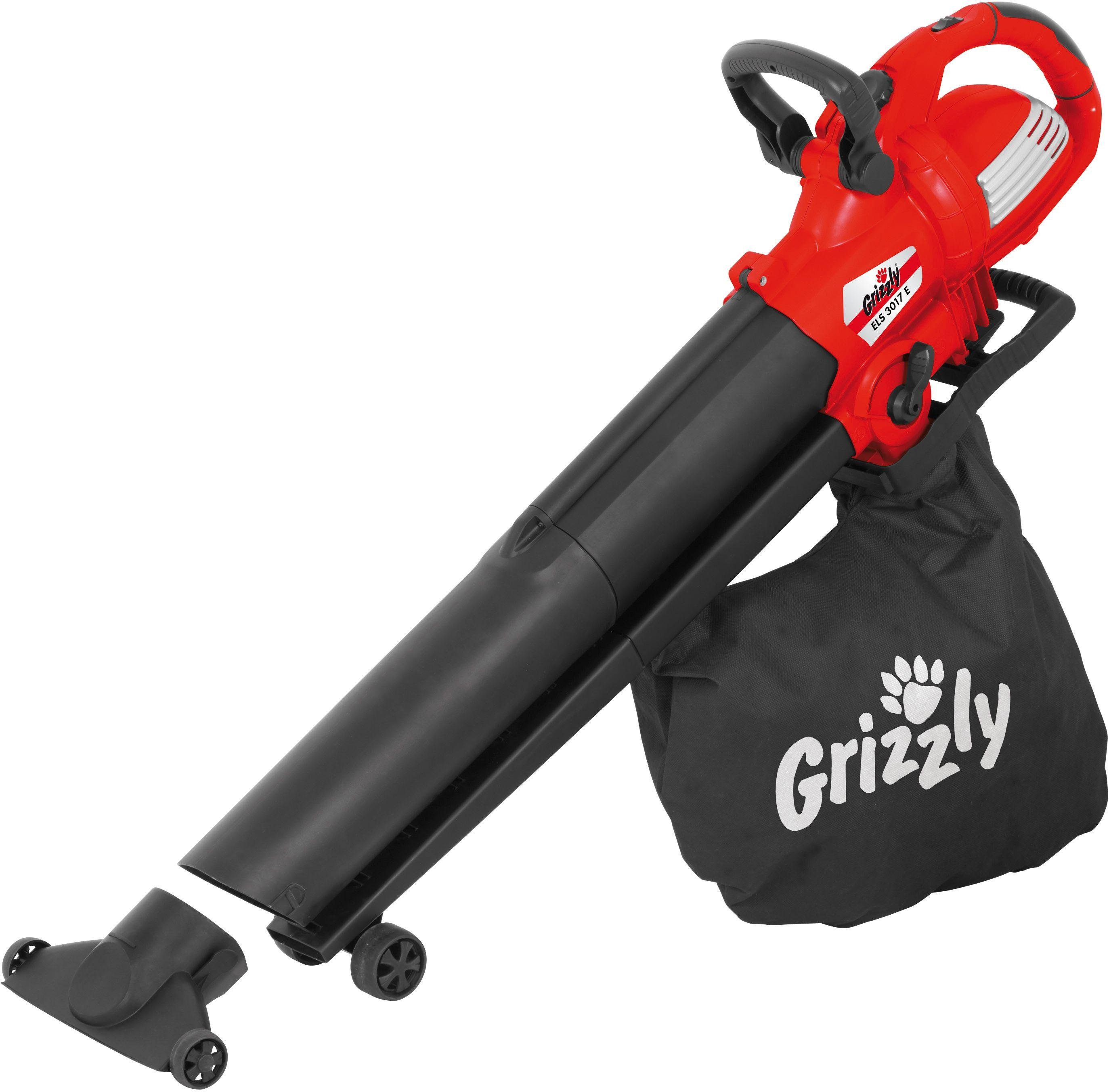 grizzly tools els 3017e corded leaf blower and vac 3000w. Black Bedroom Furniture Sets. Home Design Ideas
