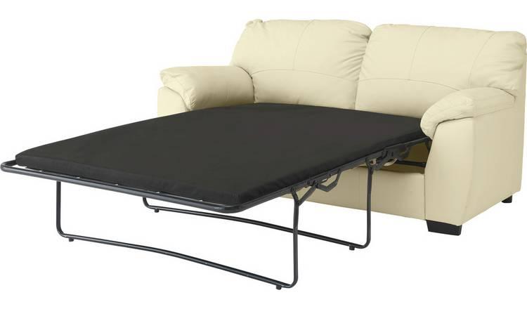 Storslått Buy Argos Home Milano 2 Seater Leather Sofa Bed - Ivory | Sofa ZB-38