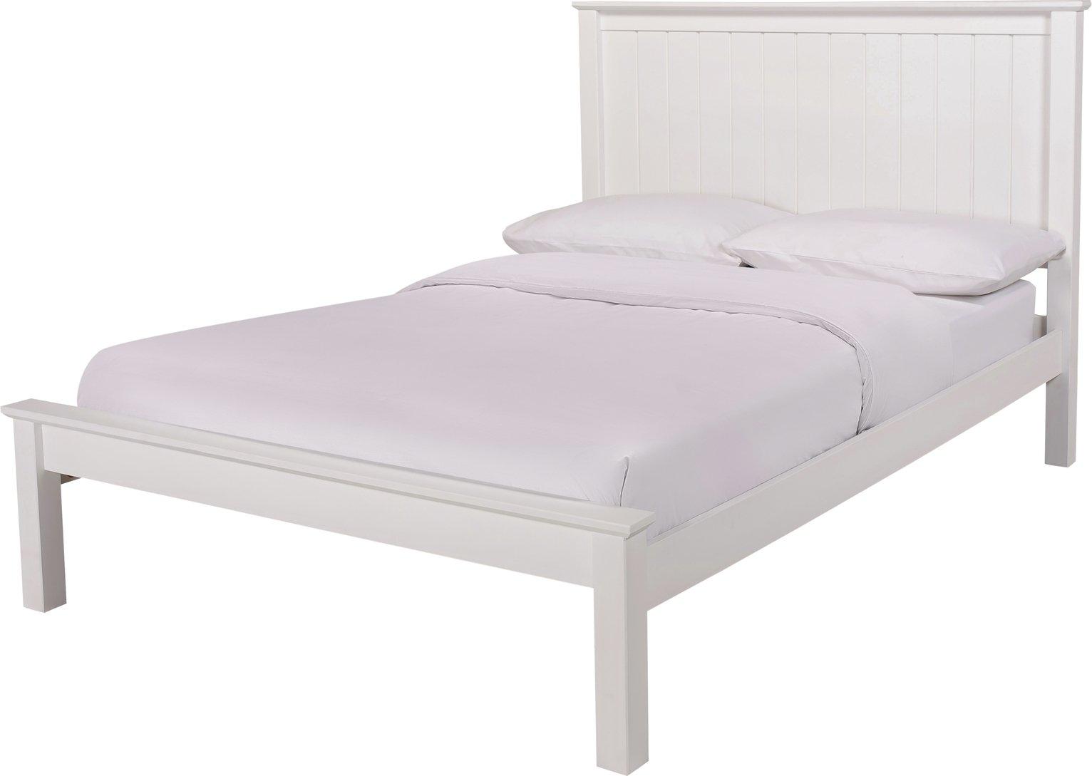 Argos Home Grafton Kingsize Bed Frame - White