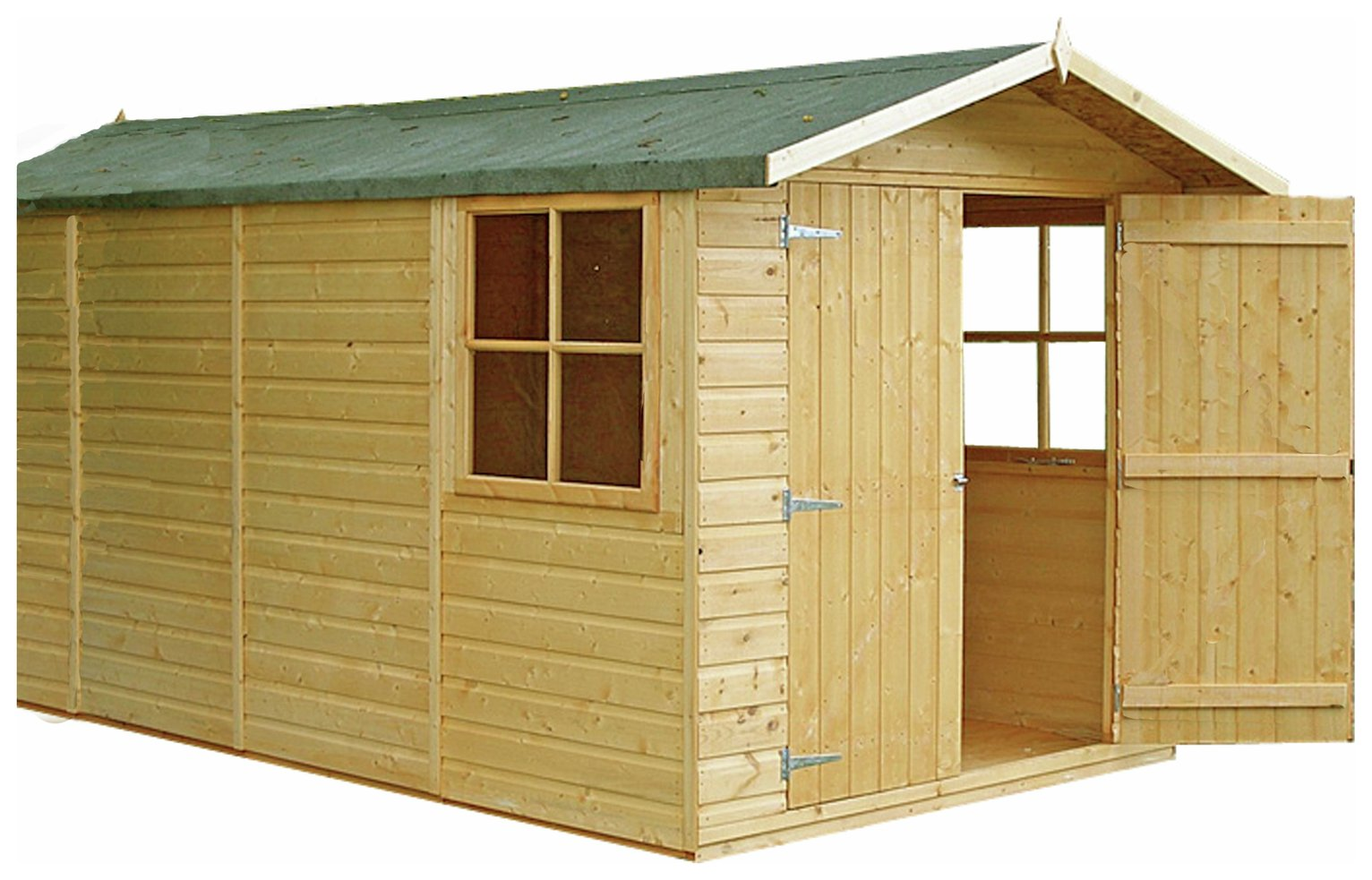 Homewood Jersey Wooden 13 x 7ft Shiplap Shed