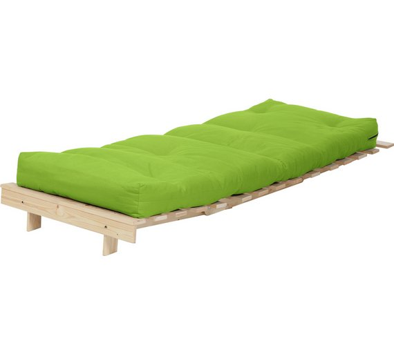 green sofa bed mattress | Buy ColourMatch Single Futon Sofa Bed with Mattress -Apple ...