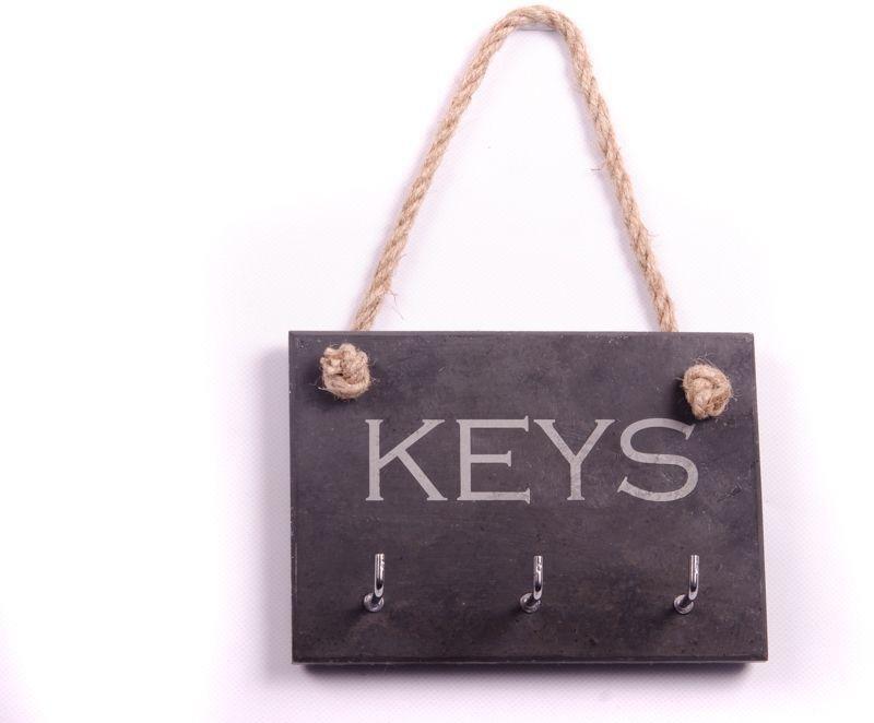 Image of House Nameplate Company Slate Key Holder.