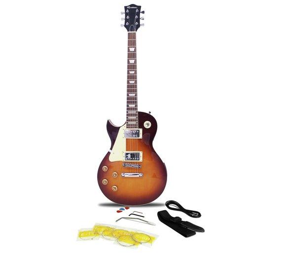 buy rockburn lh electric guitar sunburst at your online shop for electric. Black Bedroom Furniture Sets. Home Design Ideas