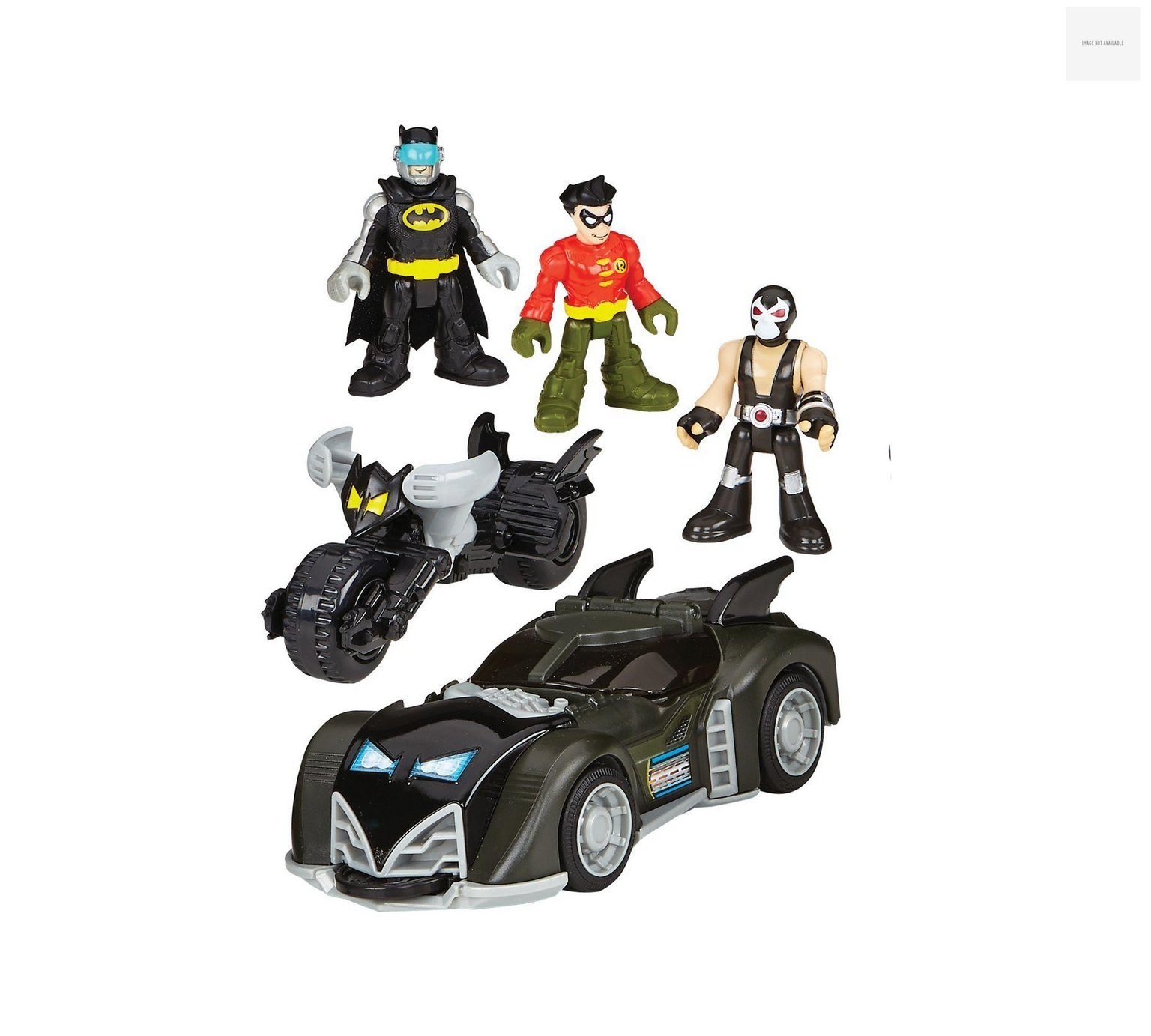 Imaginext Batmobile DC Super Friends Set