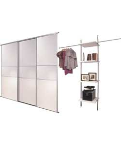 Sliding wardrobe packages