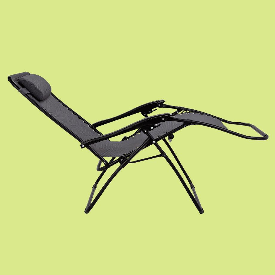 Zero Gravity Metal Sun Lounger.