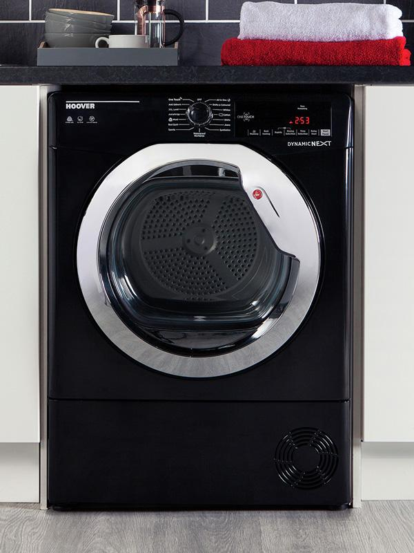Hoover 10KG Condenser Tumble Dryer - Black.