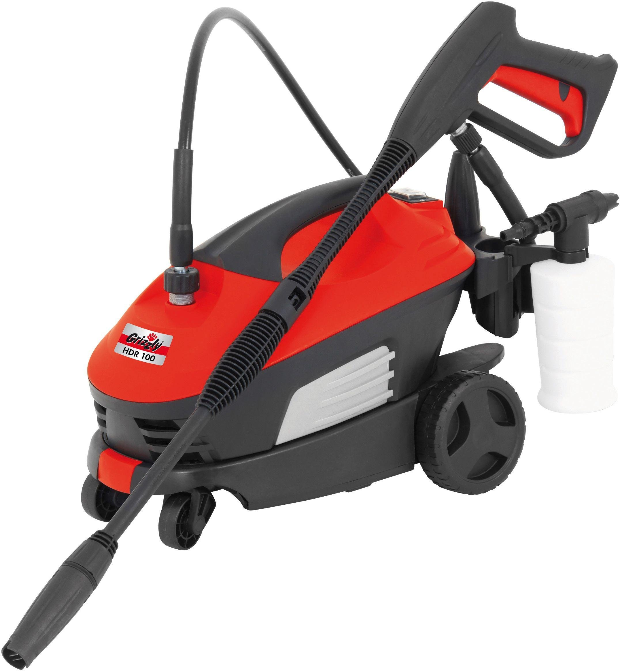 Image of Grizzly Tools 1400W Pressure Washer.