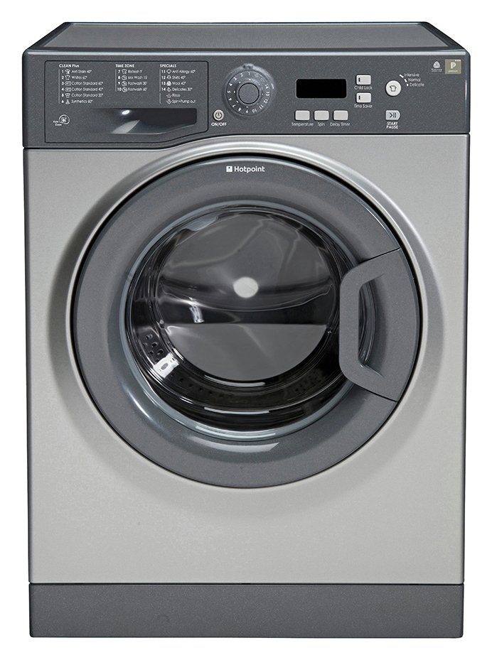 Image of Hotpoint WMXTF842G 1400 Spin 8KG Washing Machine Graphite