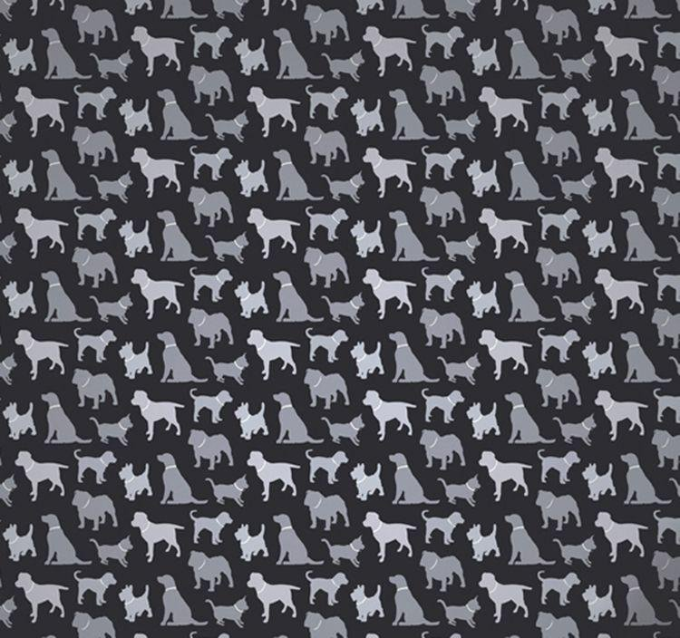 arthouse walkies wallpaper  black.