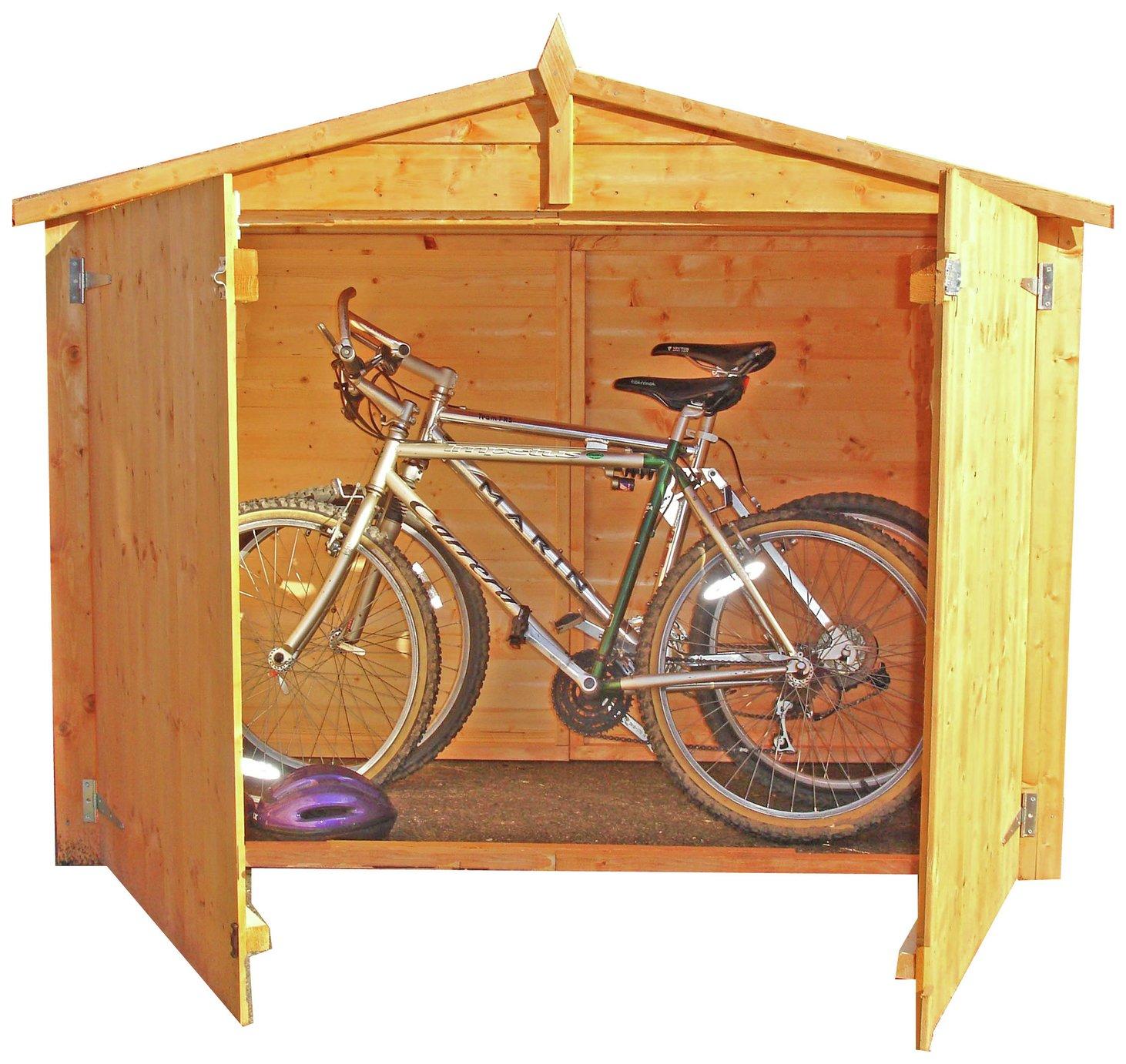 Homewood 6 x 3ft Shiplap Apex Bike Store