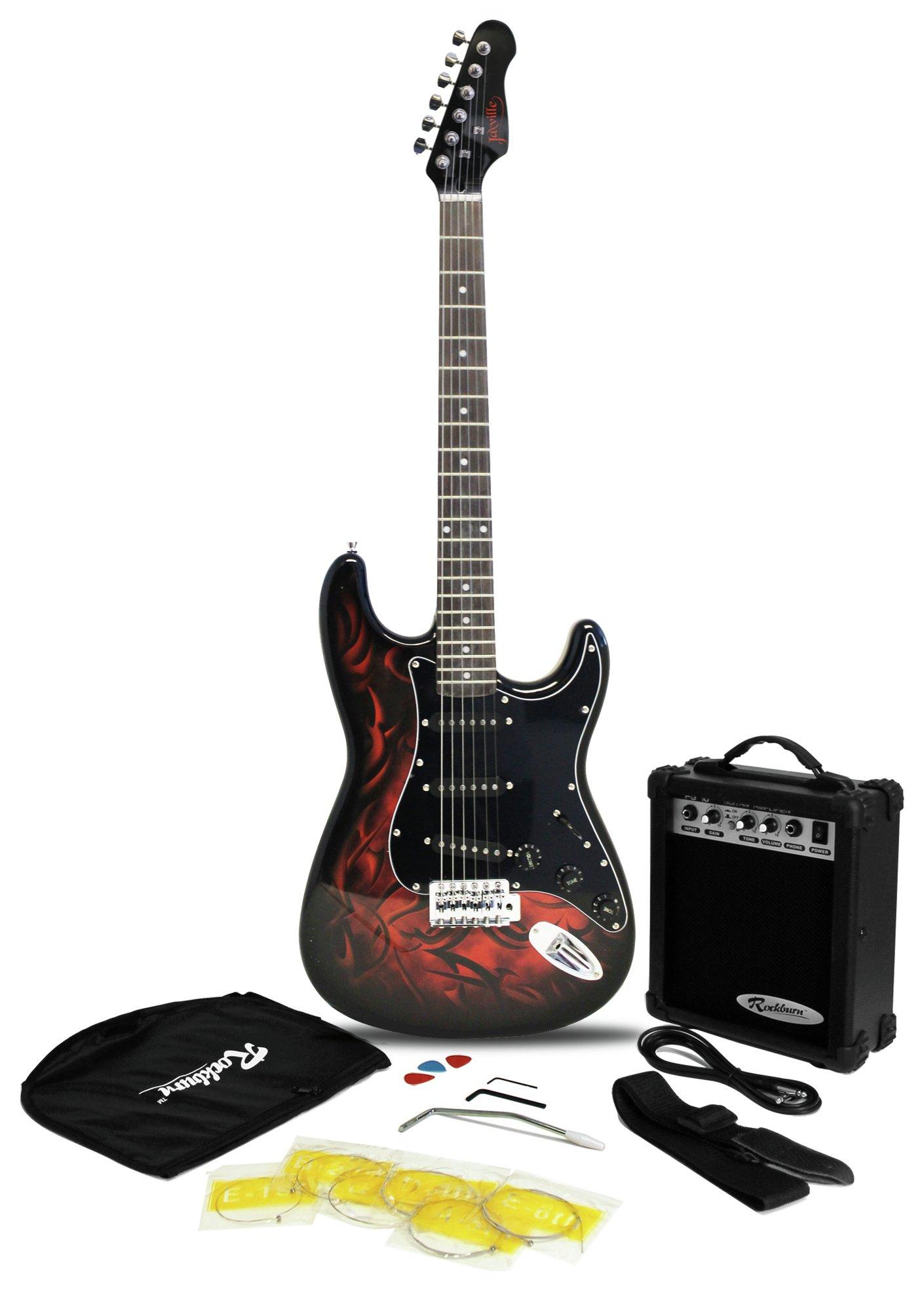 Jaxville Electric Guitar Pack - Demon