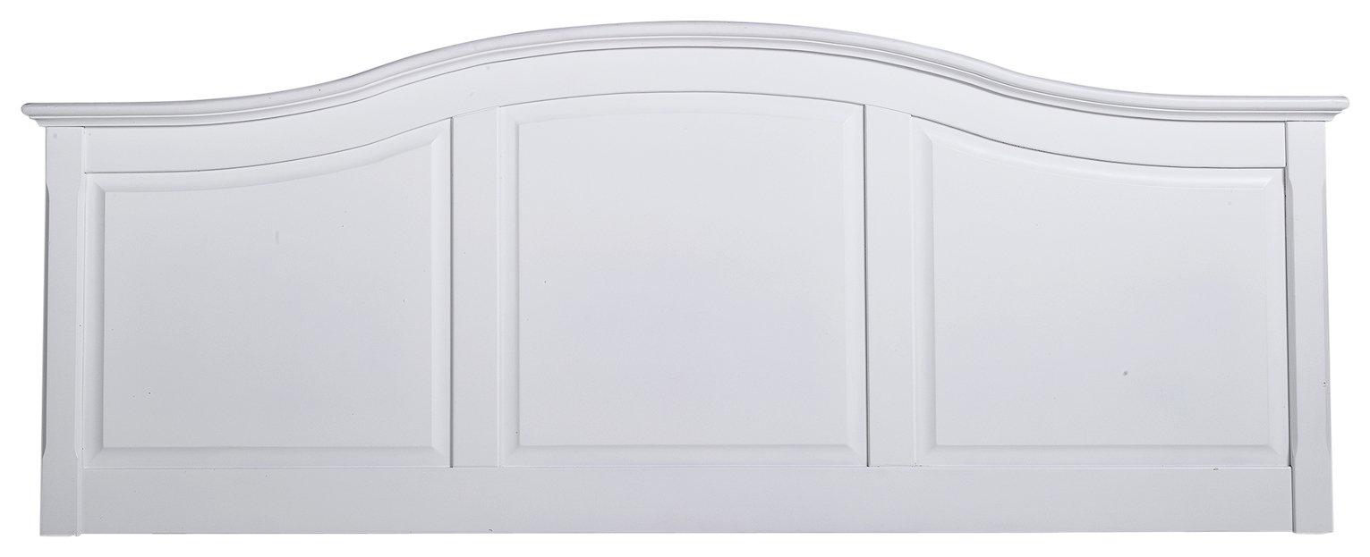 Argos Home Avignon Kingsize Headboard - White