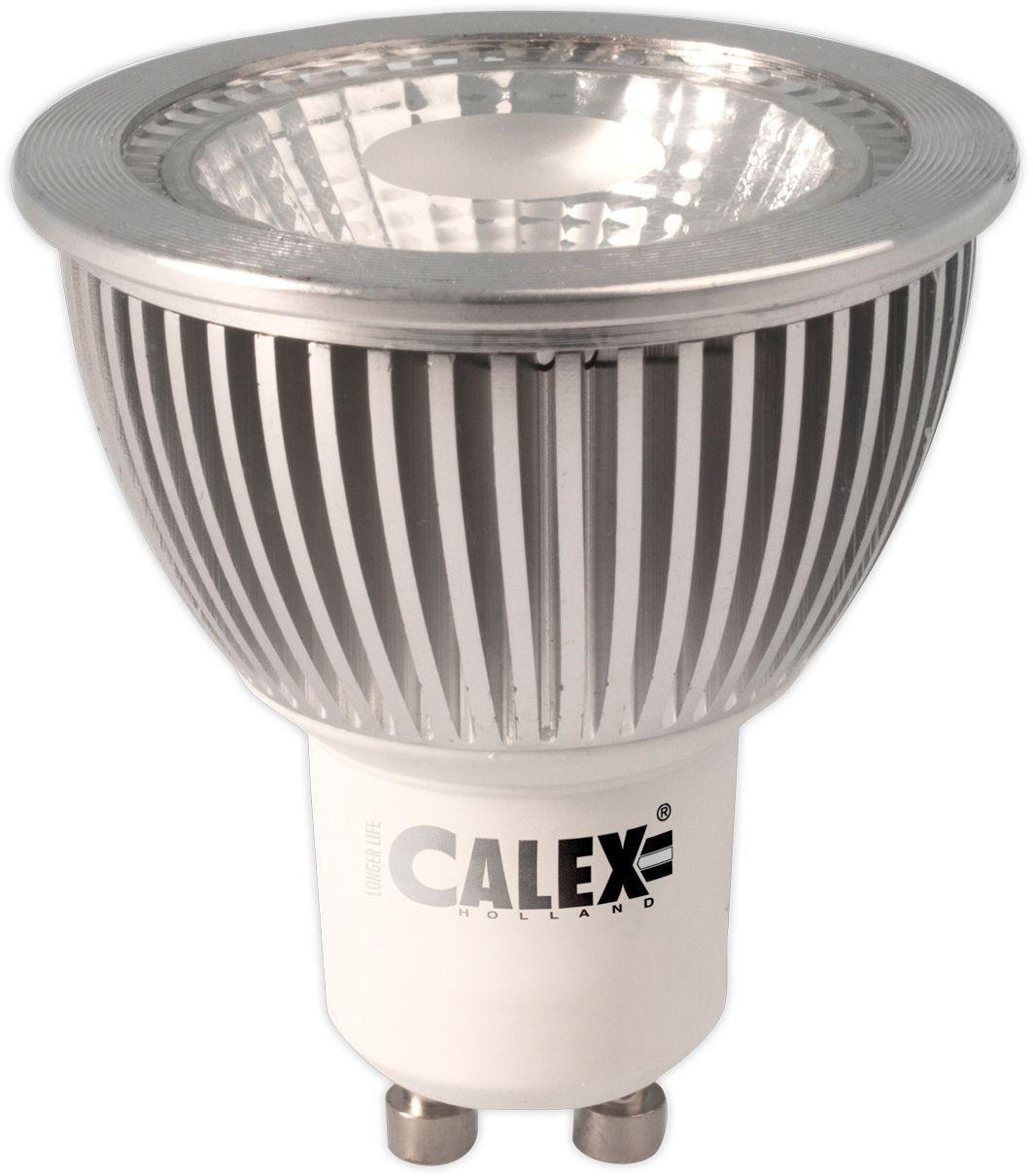 Image of Calex 6W LED COB GU10 Daylight 6500K 370 Lumen Dimmable Bulb