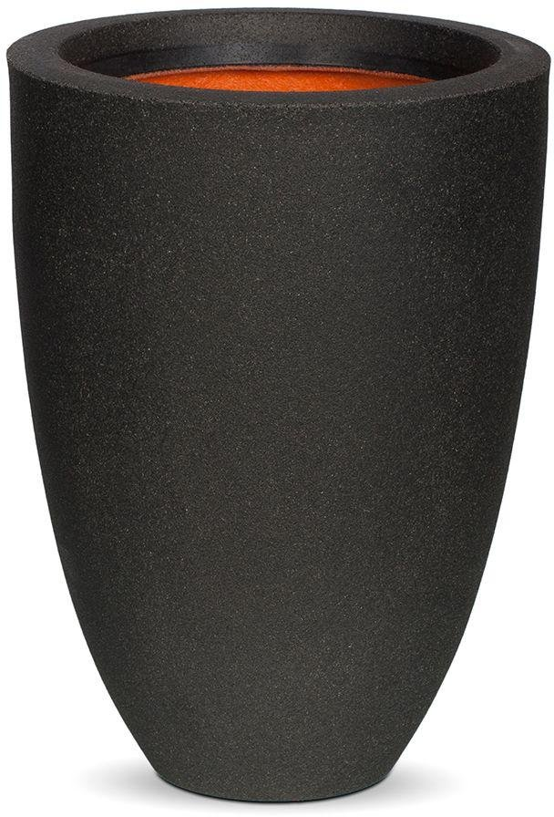 Image of Capi Tutch Black Vase Planter - 26 x 36cm.