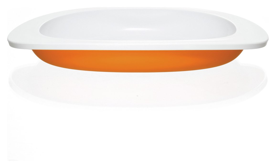 Toddler Table Plate - Orange