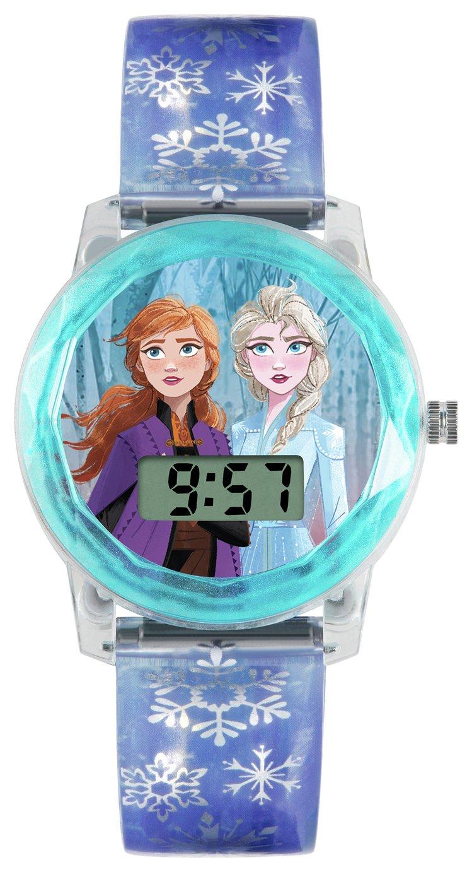 Disney Frozen 2 Purple Plastic Strap Watch